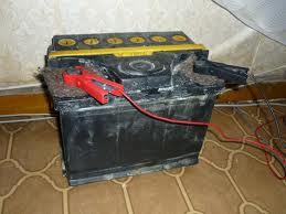 Зарядка старого аккумулятора