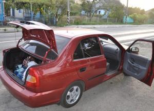 Открыть двери авто