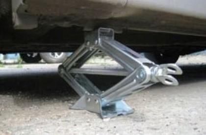 Поднять передние колеса