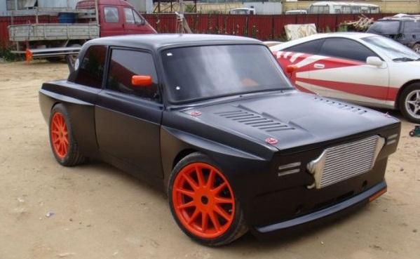 Тюнинговый авто