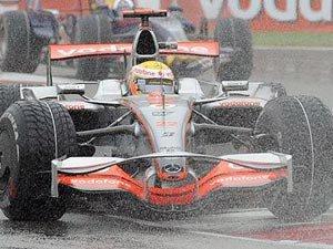 Формула 1 в дождь