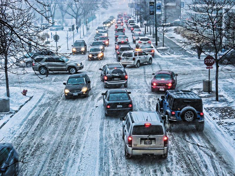 10 правил вождения автомобиля зимой