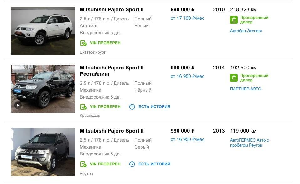 ТОП-5 внедорожников за 1 миллион рублей: рейтинг лучших