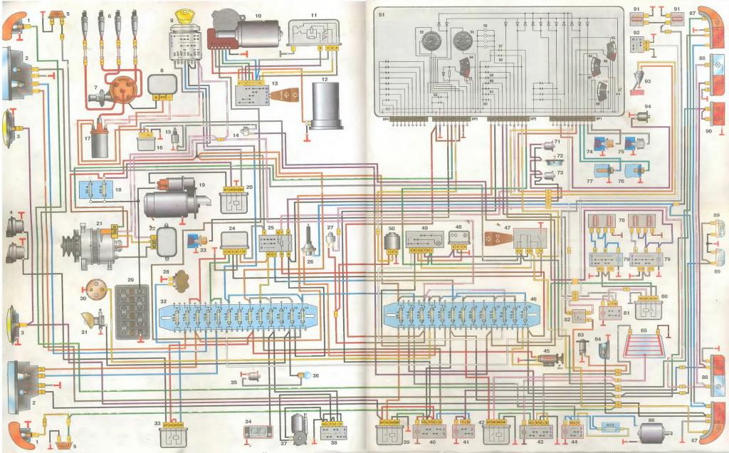 проводка газ 3110 на инжектор