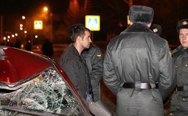 Водитель сбил пешехода