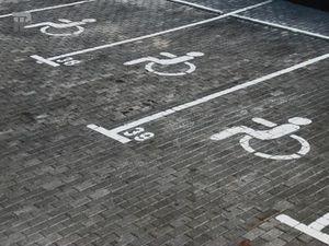 Разметка для инвалидов