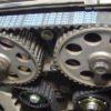 Замена ремня ГРМ (данные и метки) для двигателей Тойота Королла (Toyota  Corolla) 6 поколение (кузов E90): много картинок