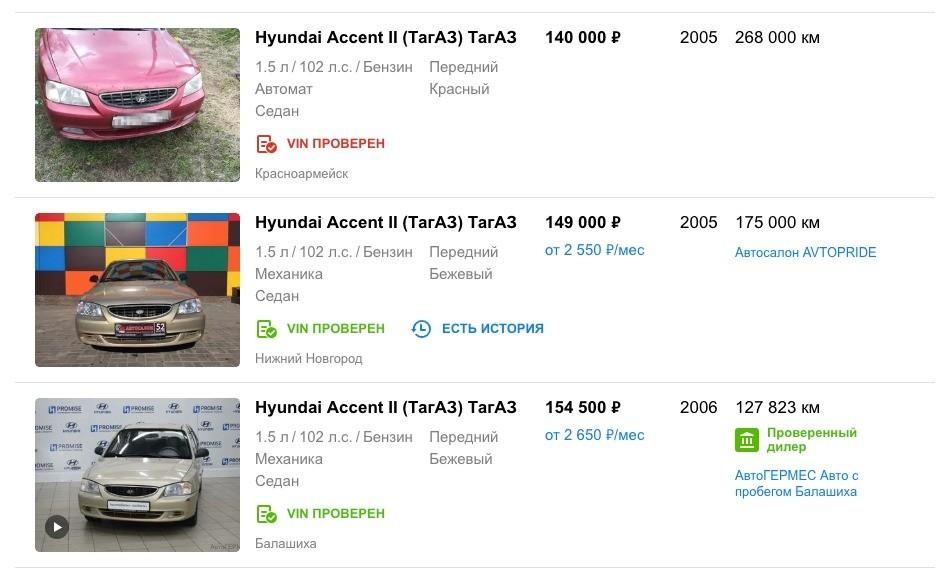 Какую машину купить за 150 тысяч рублей в 2019 году?