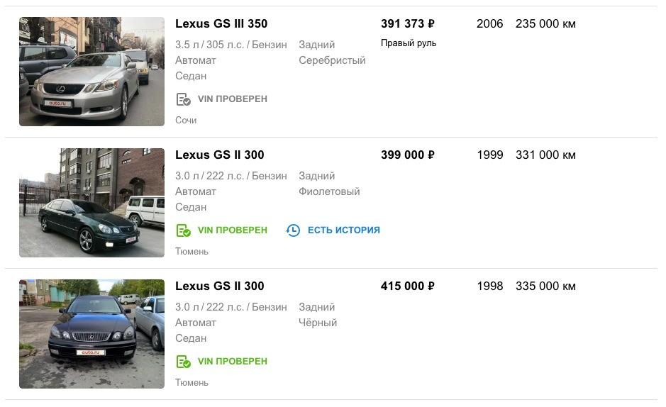 ТОП-5 авто за 400 тысяч рублей, которые тебе по карману
