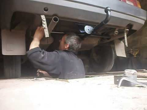 подключение фаркопа прицепа на автомобиле